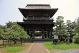 Main gate of Hōkō-ji in the Teramachi