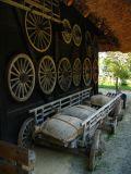 Wagon and wheels