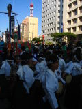 Young taiko group readying for the event