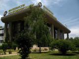 Telecom Building and neighboring park