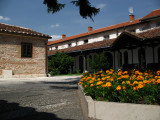 Courtyard within Sveti Spas