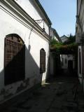 Quiet alley in Čaršija