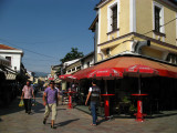 Late afternoon in Čaršija