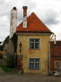 Old medieval house in Toompea