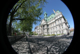 Old Montreal District Building(Fisheye)