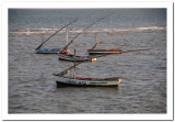 Fishing vessels at anchor