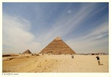 The Pyramid of Chefren (or Khafre)