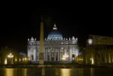 San Pietro in Vaticano Night