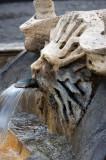 Fontana della Barcaccia Detail 1