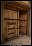 Jabrin Fortress Entrance (Old Wooden Gate)