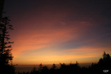 Volcanic Particle Sunset