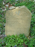 (The child) Nechemia son of Binyamin David Elimelech SEGAL died 2nd Kislev 5633 (1872)