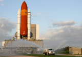Discovery Rolls Out to Pad 39A