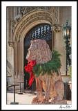 Biltmore Christmas Lion