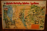 Hetch Hetchy Water System map, California