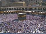praying round the kaaba.