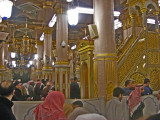 Inside the rawdah,what a beautiful feeling being here.