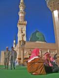 Local men in the haram.