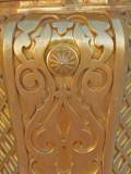 brass work in the prophet mosque,Medina