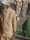 The flag bearer,afghanistan