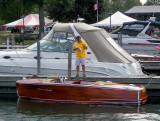 Mike checks his list for this boat.
