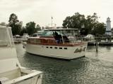 A beautiful Richardson heads to it's dock.