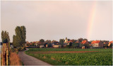 Rainbow over Humelgem