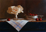 1.  Still Life with Cherries 13 1/2 x 19 1/4