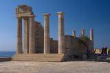 28262 - Temple of Athena at Lindos (restoration)