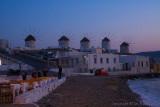 27961 - Mykonos windmills at dusk