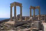 28301 - Restoration at the Lindos acropolis