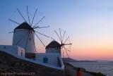27935 - Windmills at Sunset