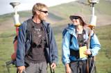 Ryan and Lisa with Gravity/GPS packs