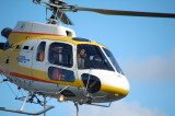 Coastal Helicopter heading to work