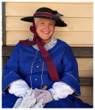 Margaret in Victoria Costume