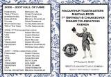2006-2007 Macarthur Toastmasters 1st Anniversary