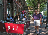 A summer day at Cosi's
