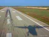 On very short final runway 08 @ CYPA.