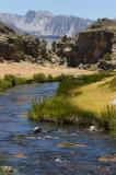 Hot Creek, Owens Valley, CA
