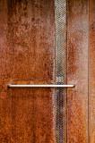 Rusted metal door