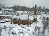 Madurodam in the snow