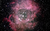 NGC2244 - Rosette, combined image.