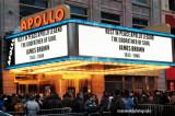 James Brown memorial, Apollo Theater, Harlem, NYC, December 28, 2006
