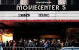 Fans waiting on line, 125th Street, Harlem