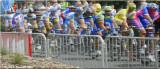 Tour de France blurred