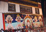 Raising the Thondrol of Guru Rinpoche