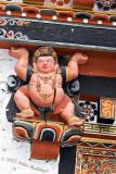 Figure in Thimpu Dzong