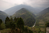 View from Trongsa Dzong