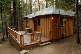 Our cabin in Wawona