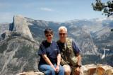 Glynda and Jim at Washburn Point